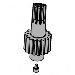 Arbre pignon moteur S800 2015