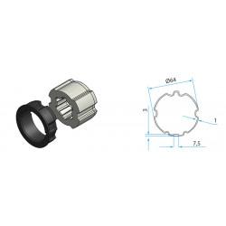 Adaptateur pour tube ZF 64mm
