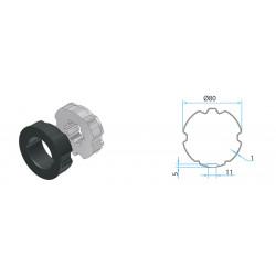 Adaptateur pour tube ZF 80mm